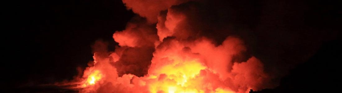December 10 , 2016. EN.  Kilauea , Sheveluch , Fuego , Popocatepetl , Mauna Loa .