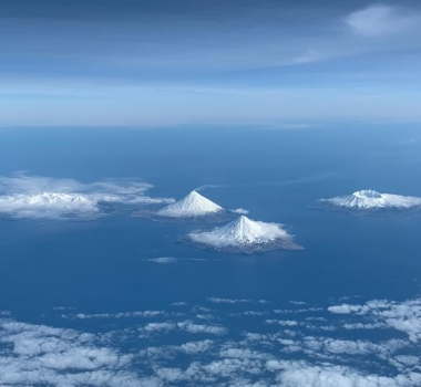 October 14, 2019. EN. Philippines : Taal , Indonesia : Anak Krakatau,  Alaska : Cleveland , Mexico : Popocatepetl .