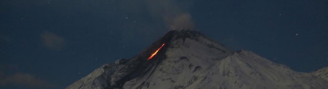 10/03/2017. FR. Nevado Del Ruiz , Nevado de Chillan , Bezymianny , Piton de la Fournaise , Fuego .
