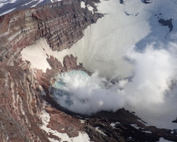 October 29, 2020. EN . Alaska : Korovin , Kamchatka : Karymsky , Indonesia : Sinabung , Guatemala : Fuego .