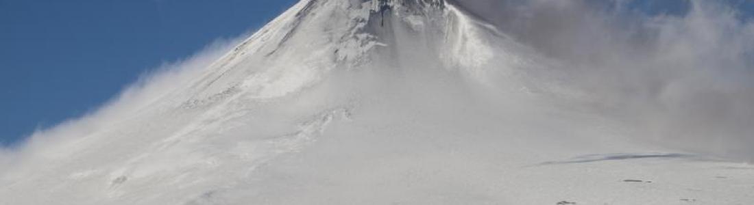 27 Décembre 2019 . FR . Alaska : Shishaldin , Kamchatka : Klyuchevskoy , Mexique : Popocatepetl , Hawaii : Mauna Loa .