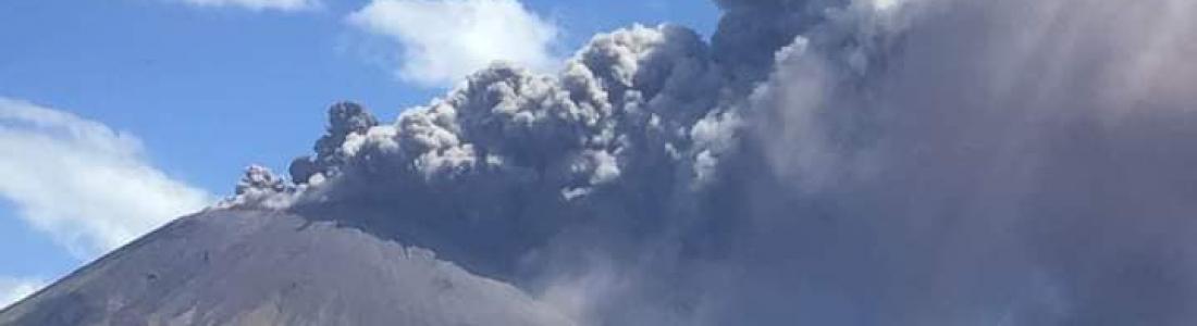11 Mars 2021 . FR. Nicaragua : San Cristobal , Italie : Stromboli , Kamchatka : Klyuchevskoy , Philippines : Taal , Indonésie : Sinabung .