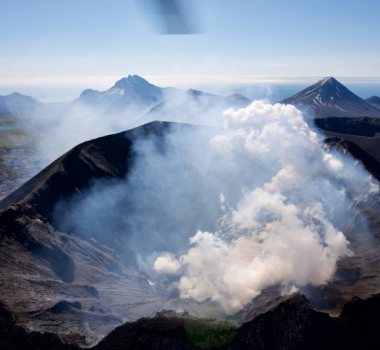 July 14, 2021. EN. Alaska : Semisopochnoi , Italy / Sicily : Etna , Indonesia : Semeru , Chile : Nevados de Chillan , Peru : Sabancaya .