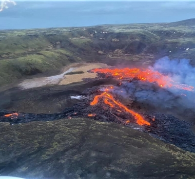 March 21, 2021. EN. Iceland : Fagradalsfjall , Hawaii : Kilauea , Alaska : Cleveland , Ecuador : Reventador , Mexico : Popocatepetl .