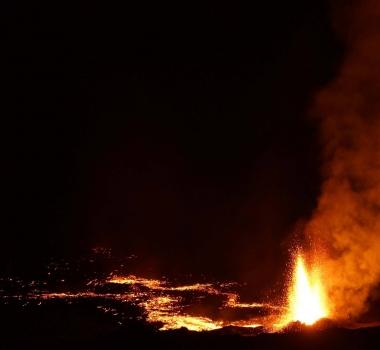February 03, 2017 . EN . Nevado Del Ruiz , Piton de la Fournaise , Kilauea , Ruapehu, White Island,