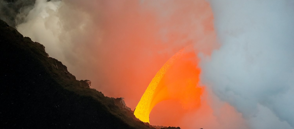 March 11 , 2017.  EN.  Kilauea , Fuego , Nevado Del Huilà , Sabancaya .