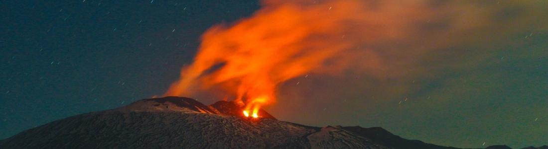 April 14 , 2017. EN.  Poas , Kambalny , Guallatiri , Etna .