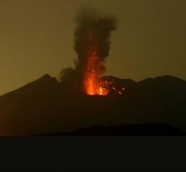May 03 , 2017. EN. Sakurajima , ( Aira ) , Nevado Del Ruiz , Sabancaya , Poas .