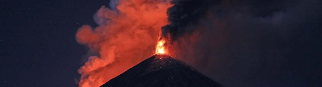 April 07 , 2016. EN. Nevado Del Ruiz , Momotombo, Masaya , Telica , Klyuchevskoy , Langila .