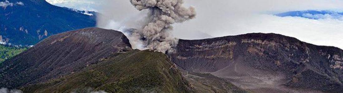 30/05/2017. FR. Bogoslof , Poas , Turrialba , Fuego , Cotopaxi  , Dukono .