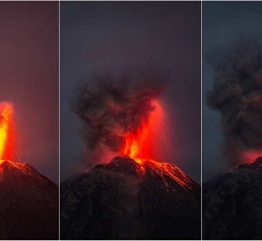 June 19 , 2017. EN. Kilauea , Sheveluch , Reventador , Sinabung , Mauna Loa .