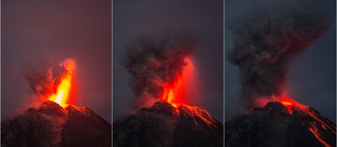 19/06/2017. FR . Kilauea , Sheveluch , Reventador , Sinabung , Mauna Loa .
