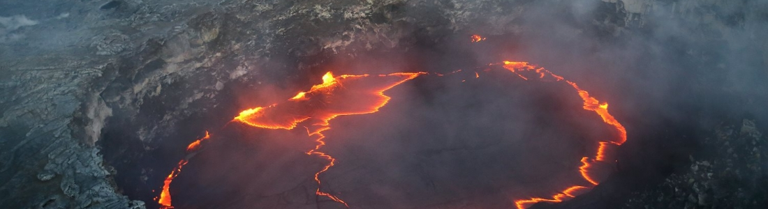 June 24 , 2017. EN.  Bogoslof , Kilauea , Rincon de la Vieja , Reventador .