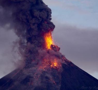 January 24 , 2018. EN.  Mayon , Cumbal , Sinabung , San Miguel ( Chaparrastique) .
