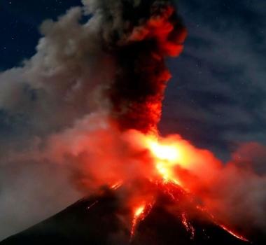 February 09 , 2018. EN.  Mayon , Mauna Loa , Tenorio , Popocatepetl , Sinabung .
