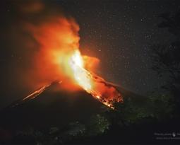 June 23 , 2017. EN.  Nevados de Chillan , Yellowstone , Ebeko , Fuego , Poas , Turrialba .