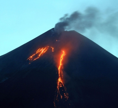 September 08 , 2016.  EN. Turrialba , Fuego , Klyuchevskoy , Mayon .