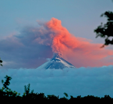 July 18 , 2017. EN.  Piton de la Fournaise , Klyuchevskoy , Kilauea , Sabancaya .
