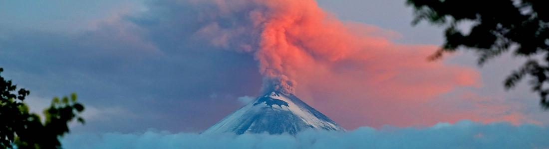 11/08/2017. FR. Nevado del Ruiz , Piton de la Fournaise , Fuego , Klyuchevskoy , Mauna Loa .