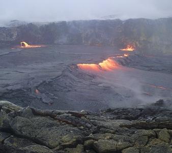 April 21 , 2018. EN.  Aira ( Sakurajima ) , Kilauea , Popocatepetl , San Miguel ( Chaparrastique).