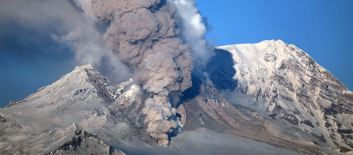 February 10 , 2019. EN.  Kamchatka : Sheveluch , Colombia : Nevado del Ruiz , Indonesia : Merapi , Chili : Chaiten .