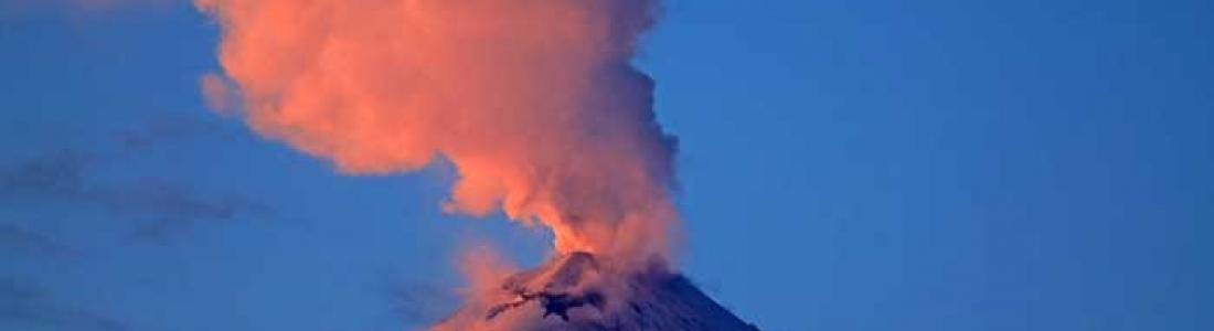 30 Mars 2020. FR. Kamchatka : Klyuchevskoy , Indonésie : Anak Krakatau , Philippines : Taal , Guatemala : Santiaguito .