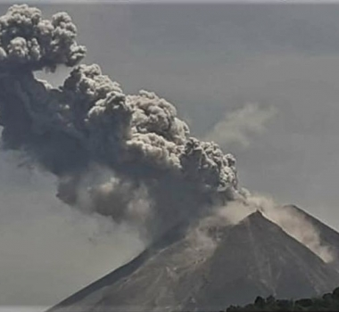 January 06, 2020. EN . Indonesia : Merapi , Kamchatka : Klyuchevskoy , Ecuador : Sangay , Guatemala : Fuego , Mexico : Popocatepetl .