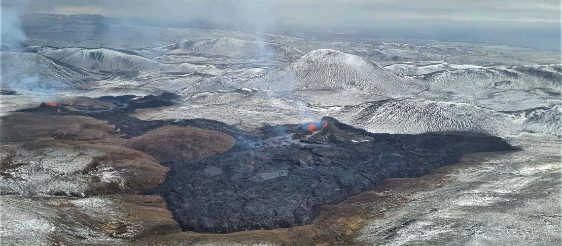 April 08, 2021. EN . Iceland : Geldingadalur , Guatemala : Pacaya , Japan : Suwanosejima , Indonesia : Sinabung , Russia / Kurile Islands : Ebeko .