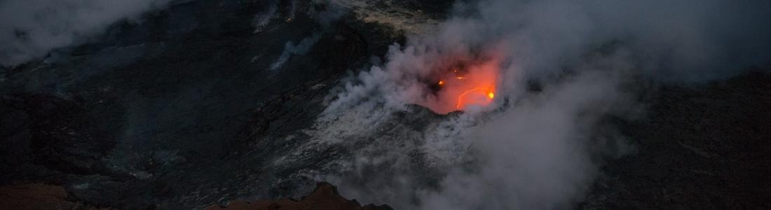 14/08/2017. FR. Kilauea , Piton de la Fournaise , Soufrière Hills , Pacaya .