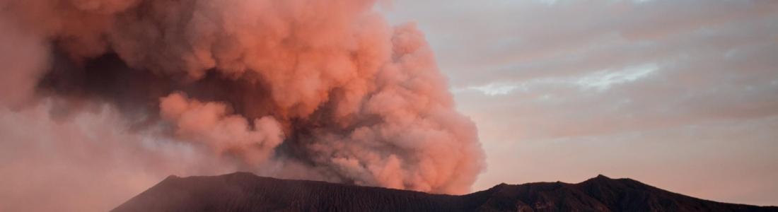22/08/2017. FR . Piton de la Fournaise , Dukono , Sabancaya , Mauna Loa , Villarica .