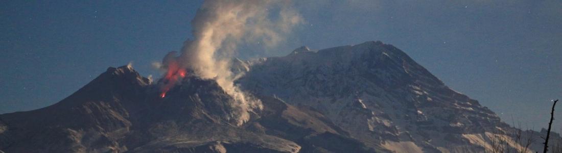 March 24 , 2017. EN.  Villarica , Sheveluch , Fuego , Mauna Loa .