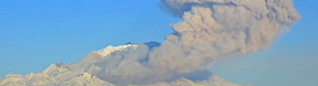 02/01/2016. FR. Nevados de Chillan , Nevado Del Ruiz, Sheveluch .