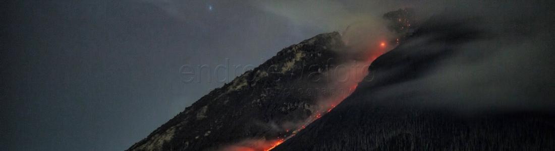17/10/2017. FR. Shinmoedake , Sabancaya , Sinabung , Misti .