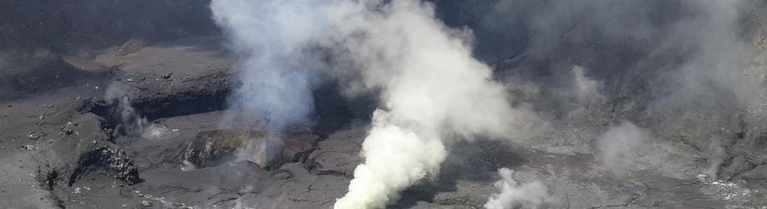 September 14 , 2017. EN. Kilauea , Poas , Turrialba , Kanlaon , Solfatara di Pozzuoli .