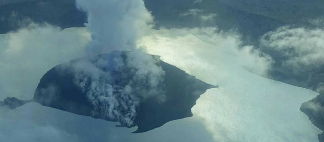 September 27 , 2017. EN. Agung , Ambae , Nevado Del Ruiz , Fuego .