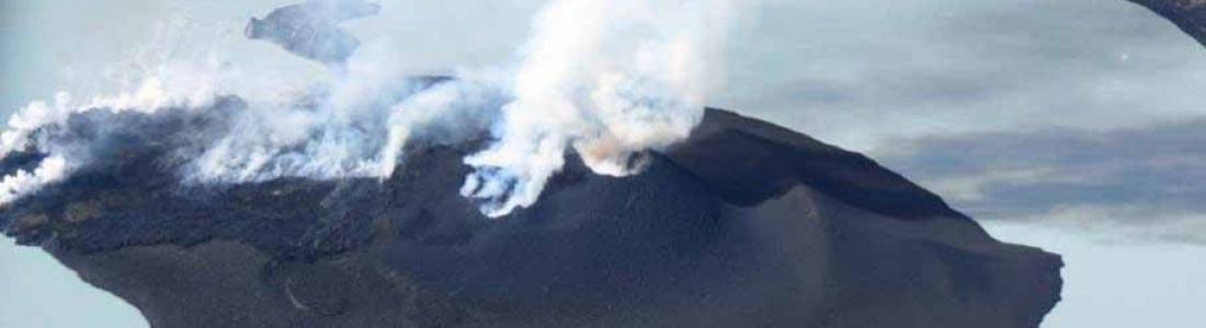 October 02 , 2017. EN. Ambae , Fuego , Popocatepetl , Agung .