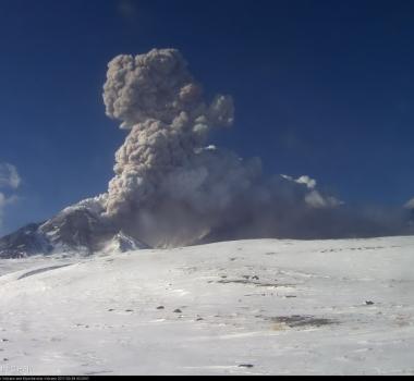 December 20 , 2017. EN.  Bezymianny , Osorno , Nevados de Chillan , Kanlaon .