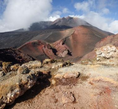 October 25 , 2017. EN. Tinakula , Nevado Del Huila , Stromboli , Etna , Popocatepetl .
