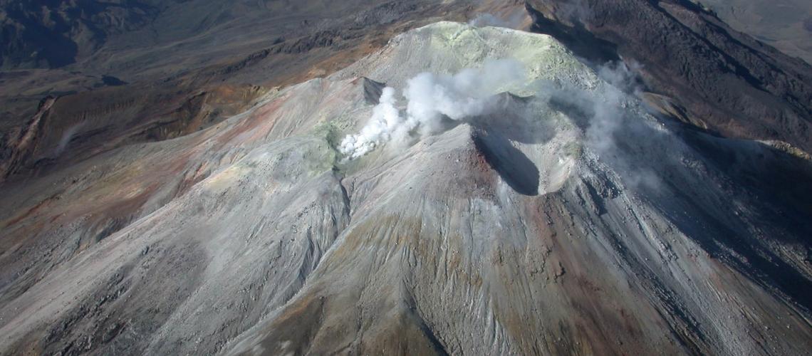 February 28, 2019. EN. La Reunion: Piton de la Fournaise , Colombia : Cumbal , Papua New Guinea : Kadovar , Hawaii : Kilauea , Japan : Suwanosejima.