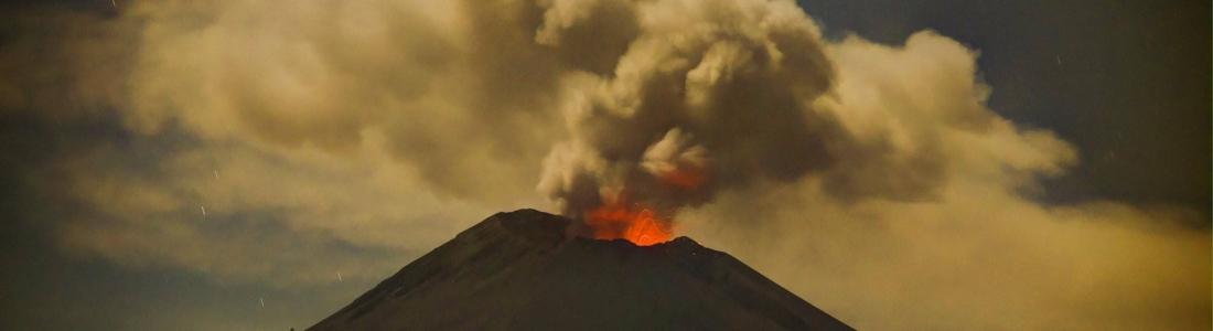 04 Novembre 2017. FR. Fuego , Popocatepetl , Misti , Öræfajökull , Cleveland .
