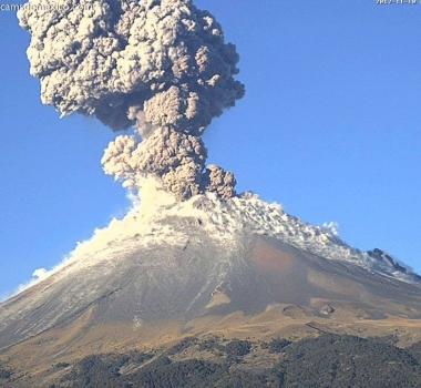 November 11 , 2017 . EN.  Popocatepetl , Katmai , Mauna Loa , Kilauea .