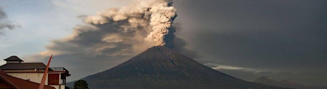 November 29 , 2017. EN. Agung , Etna , Kuchinoerabujima , Cumbal , Pacaya .