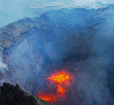 September 13, 2021. EN. Canary Islands : La Palma , Iceland : Geldingadalur / Fagradalsfjall , Indonesia : Semeru , Mexico : Popocatepetl , Northern Mariana Islands : Pagan .