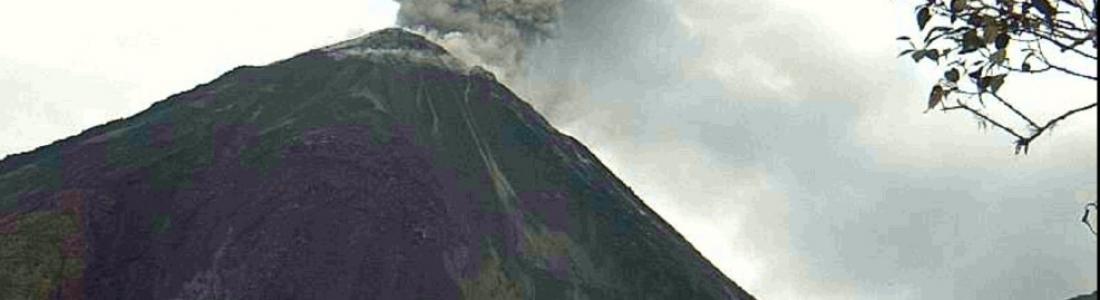 September 18, 2021. EN. Spain / La Palma : Cumbre Vieja , Alaska / Aleutian Islands : Great Sitkin , Kamchatka : Karymsky , Indonesia : Merapi , Ecuador : Reventador .