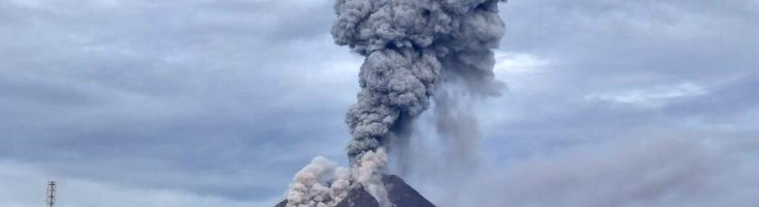 December 03 , 2017. EN . Agung , Misti , Sinabung , Reventador .