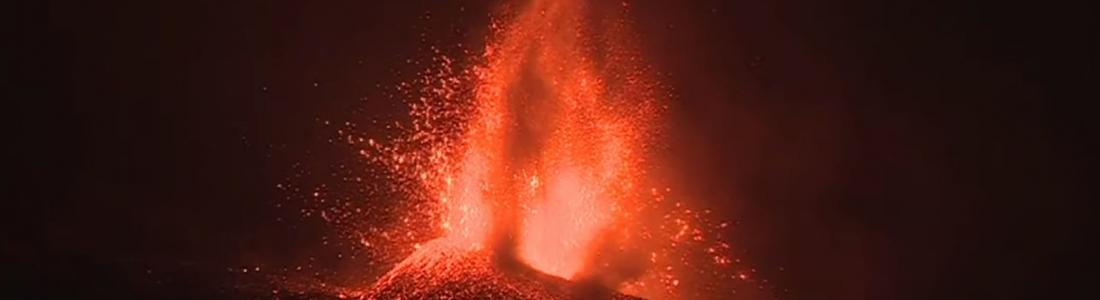 23 Septembre 2021. FR. Espagne / La Palma : Cumbre Vieja , Alaska : Semisopochnoi , Japon : Sakurajima , Mexique : Popocatepetl , Saint Vincent : Soufrière Saint Vincent .