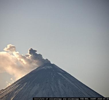 February 23, 2020. EN. Kamchatka : Klyuchevskoy , El Salvador : San Miguel (Chaparrastique) , Iceland : Thornbjorn / Reykjanes , Costa Rica : Turrialba / Poas / Rincon de la Vieja / Irazu / Barva .