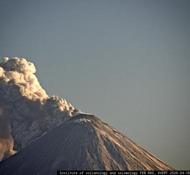 April 19, 2020. EN. Alaska : Great Sitkin , Indonesia : Merapi , Kamchatka : Klyuchevskoy , Costa Rica : Turrialba / Poas / Rincon de la Vieja / Irazu .