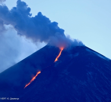 April 23, 2020. EN. Italy : Stromboli , Colombia : Chiles / Cerro Negro , Kamchatka : Klyuchevskoy , Philippines : Taal , Guatemala : Fuego / Santiaguito , Japan : Kuchinoerabujima .