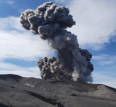 July 26, 2020. EN . Russia / Kuril Islands : Ebeko , Philippines : Kanlaon , Indonesia : Raung , Guatemala : Fuego .